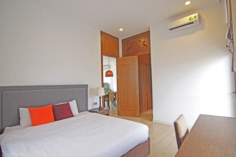 Modern 2 bedroom apartment with a large private terrace for rent in Hoan Kiem, Hanoi