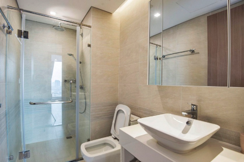 Well Designed 3 bedroom apartment for lease in Vinhomes Metropolis, Lieu Giai