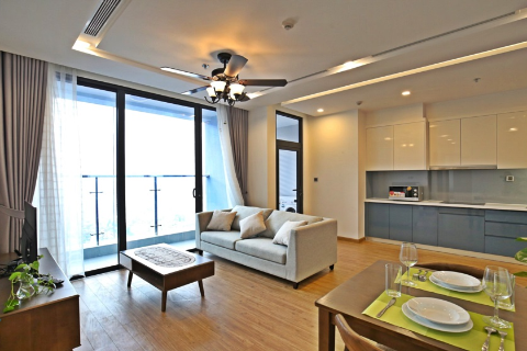 Beautiful 2 bedroom apartment for rent in Vinhomes Metropolis, Ba Dinh