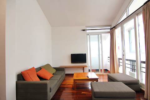 Bright & Open view 01 Bedroom Apartment 602 Westlake Building 8 For Rent In  Tay Ho