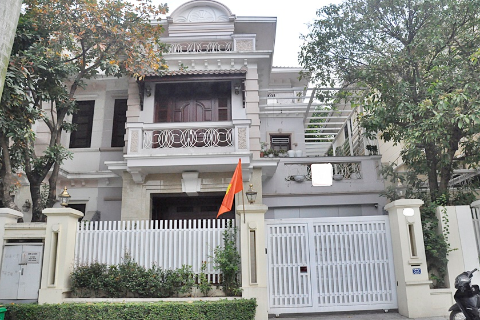 Villa for rent in Ciputra Hanoi with 5 bedrooms, near Unis