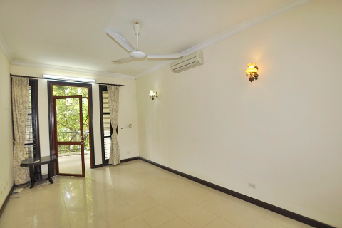 Unfurnished villa for rent in  Ciputra, Tay Ho, Hanoi