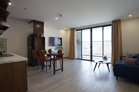 Modern One Bedroom Apartment For Rent In D'.Le Roi Soleil, 59 Xuan Dieu, Tay Ho.