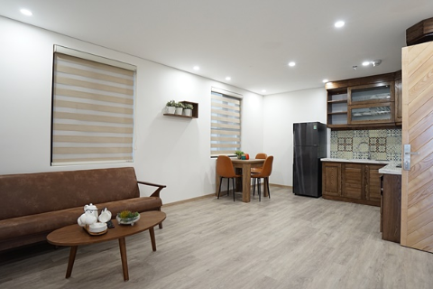Lovely one bedroom apartment for lease in D'.Leroi Soleil building, Tay Ho