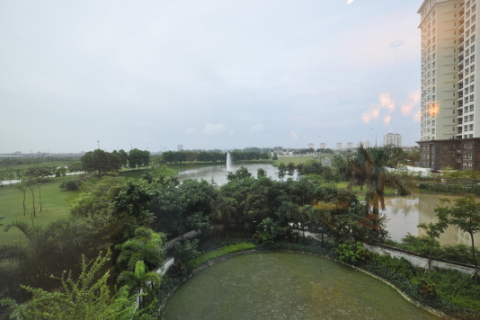 Stunning huge 4 bedroom apartment in for rent in block L, Ciputra, Hanoi