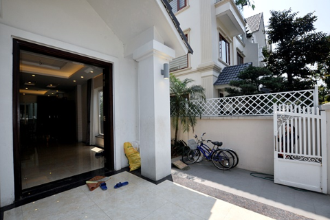 Villa Vinhome Riverside 4 bedroom for rent, Long Bien, Hanoi