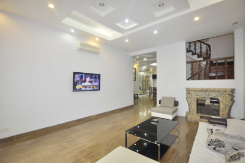 Newly renovated villa with 5 bedrooms for rent in Ciputra, Hanoi