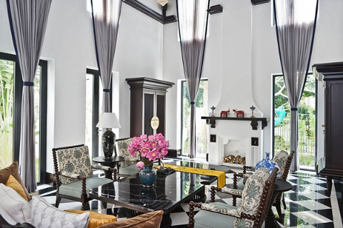 Stylish Elegant Furnished Villa In Vinhomes Riverside Long Bien, Hanoi