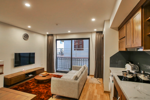 Modern 1 bedroom apartment for rent in Ba Dinh district