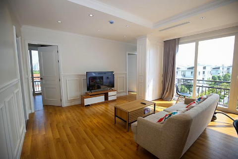 Brand-new 03 bedroom apartment to rent in Long Bien next to the French Lycee