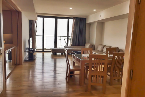 High floor apartment with 4 bedrooms for rent in Indochina Plaza, IPH Cau Giay