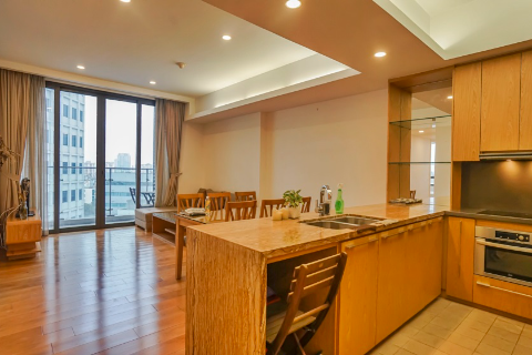 Modern and Bright 3 Bedroom Apartment for Rent in IPH Building, Cau Giay, Hanoi
