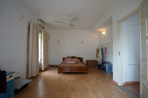 Beautiful 4 bedroom house for rent on To Ngoc Van street, Tay Ho district, Hanoi