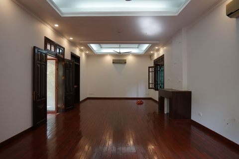 Swimming pool villa of 4 bedrooms with garden for rent on To Ngoc Van street, Tay Ho, Hanoi