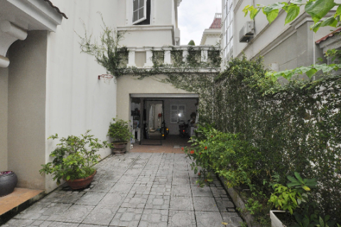 4 bedroom villa for rent in T block, Ciputra complex, Tay Ho, Hanoi