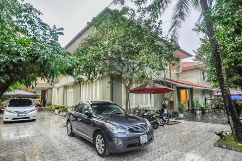 Outstanding sized villa for rent to the Ambassador in Dang Thai Mai, Hanoi