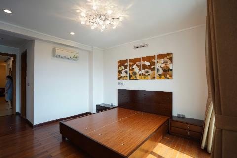 Lovely apartment with 3 bedrooms renting in Ciputra, Hanoi.