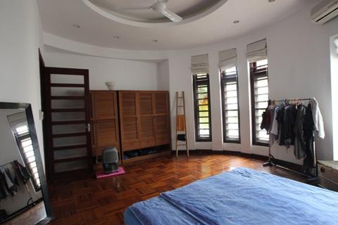 4 bedroom house for rent with green space, swimming pool and garden for rent on To Ngoc Van street, Tay Ho