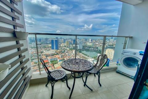 Bright 2-bedroom apartment with nice view for rent in Metropolis, Lieu Giai