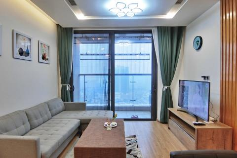 Bright and airy 3-bedroom apartment for rent in Metropolis, Lieu Giai