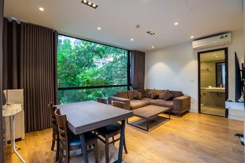 Bright and modern 1 bedroom apartment for rent in Tay Ho, near the lake
