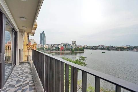 Amazing Lake View 2 Bedroom Apartment For Lease In Truc Bach, Ba Dinh