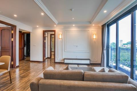 Elegant new luxury apartment with 2 bedrooms near Truc Bach lake