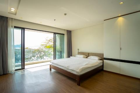 Lake view apartment with 2 bedrooms, 2 private bathrooms for rent in Lang Yen Phu, Tay Ho