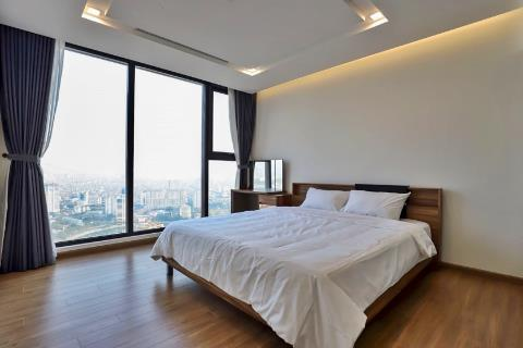 Modern 3-bedroom apartment Vinhomes Metropolis beautiful interior, overlooking the West Lake