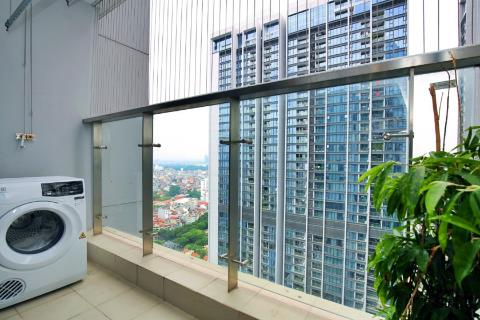 Spacious 3-bedroom apartment in Vinhomes Metropolis, with high city view