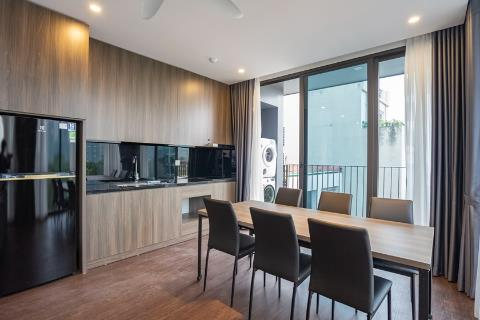 Modern and bright 2 bedroom apartment for rent in To Ngoc Van, green view and near the lake