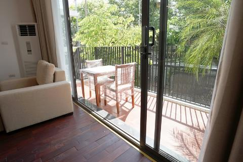 Spacious and modern 3 bedroom apartment for rent in Xom Chua, Tay Ho, near the lake
