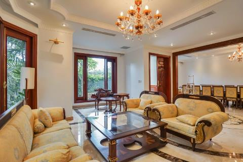 Cozy furnished 4 bedroom villa for rent in Ciputra Hanoi near Unis school