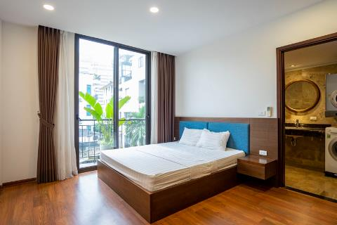 Beautiful 2 bedroom apartment with good quality furniture for rent on Xuan Dieu street