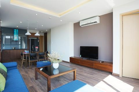Modern and furnished 2 bedroom apartment for rent on Dang Thai Mai street, near the lake