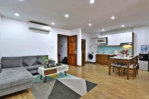 Nice and cute 2 bedroom apartment for rent in Phan Ke Binh, Ba Dinh District