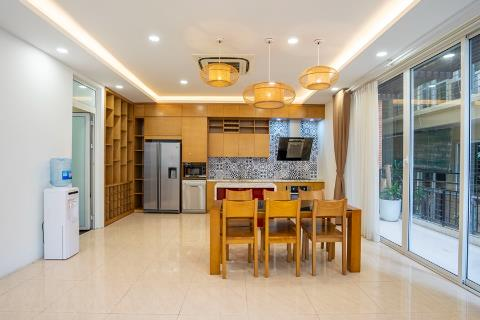 Modern 4 bedroom villa with swimming pool and elevator for rent in Tay Ho
