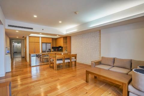 Bright, airy 3-bedroom apartment, fully furnished for rent at IPH Xuan Thuy, Cau Giay district