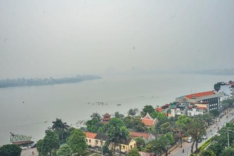 1 bedroom apartment with lake view for rent in El'Dorado Lac Long Quan, Tay Ho district