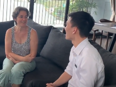 Mrs Dormoy's Interview about her experiences at Hanoi Housing's Westlake Residence 8