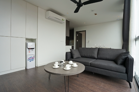 High-end one bedroom apartment 701 for lease in Ba Dinh, Ha Noi
