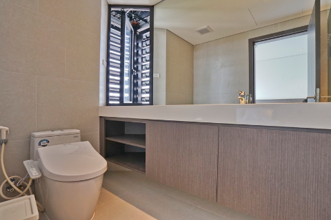 Hanoi Housing brand new and beautiful 1 bedroom apartment 603 for rent near Lotte tower in Ba Dinh, Hanoi