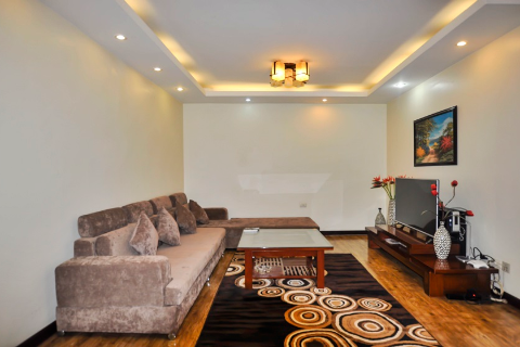 Homely 02 bedroom apartment for rent in Truc Bach area, Hanoi