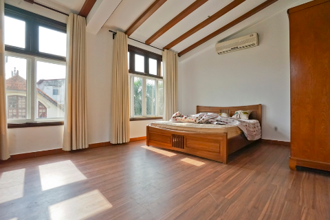 Beautiful 5 bedroom house with outdoor swimming pool for rent in To Ngoc Van, Tay Ho