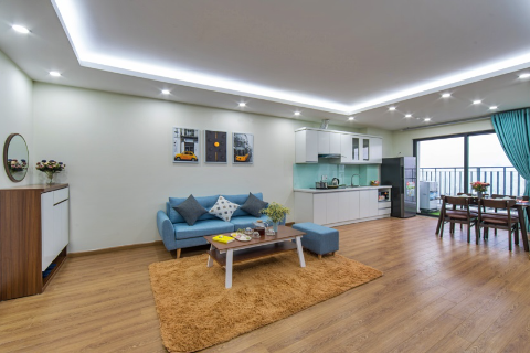 Bright Apartment for lease with 2 bedroom in Cau Giay, hanoi
