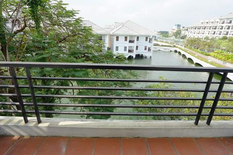 Lake view 4 bedroom house for rent  with  green garden in Tu Hoa