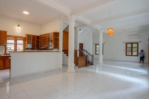 Spacious 5 bedroom house with a huge balcony for rent on To Ngoc Van street, Tay Ho.