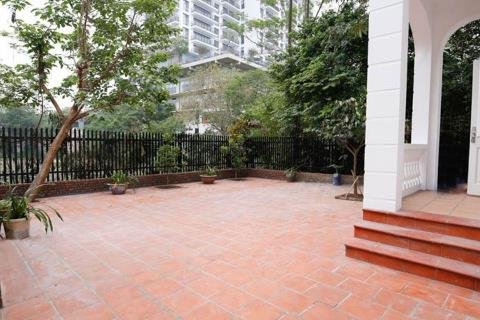 Beautiful 4 bedroom house with spacious garden in To Ngoc Van for rent.