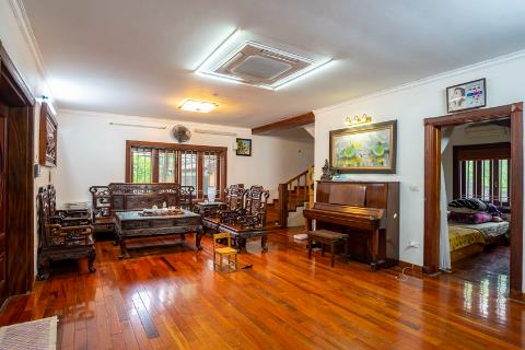 3 bedroom house with garden and swimming pool located on quiet street for rent in Tay Ho
