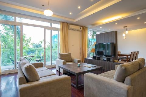 Lake view spacious apartment with 4 bedrooms for rent on Quang Khanh street, Tay Ho